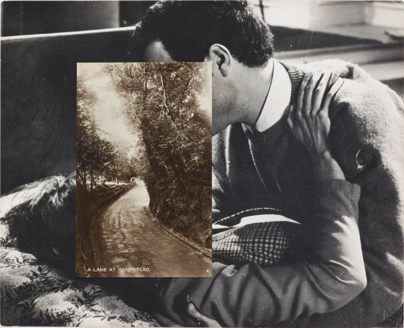 John Stezaker: Untitled (Fotocollage)
